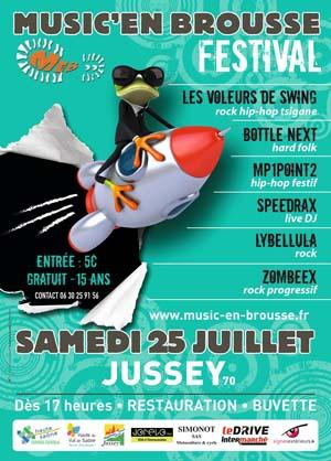 Festival Music'en Brousse à Jussey