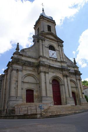 L'église de Jussey
