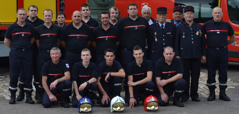 Les pompiers de Jussey